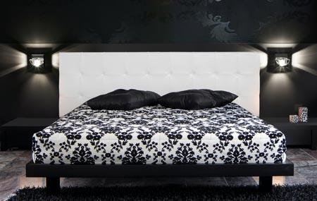 Iluminar el dormitorio algunos ejemplos que te servir n - Apliques pared dormitorio ...