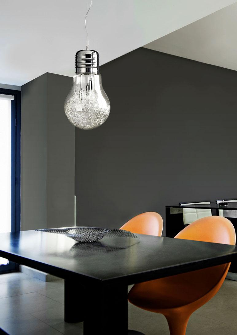 Lampara bombilla gigante una lampara decorativa de estilo - Bombillas de decoracion ...