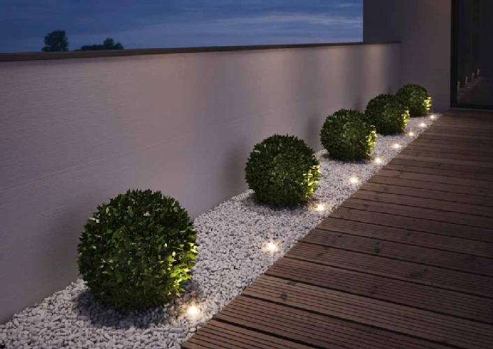 Noxlite led garden spot mini peque os toques de luz para - Lumiere exterieur jardin ...