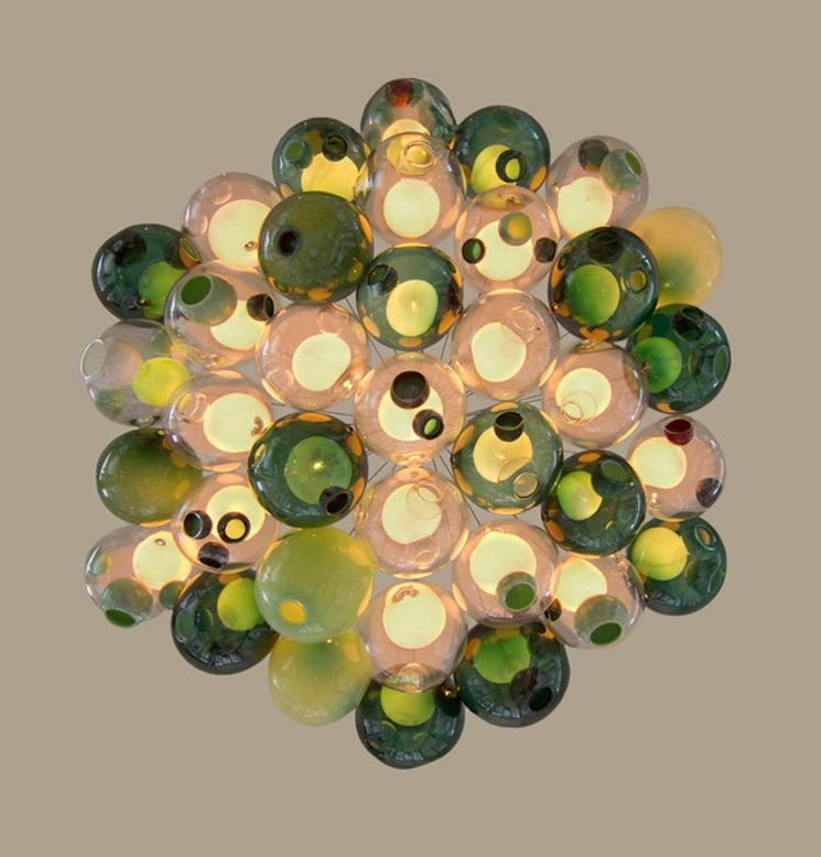 Burbujas de luz, una lampara de techo de Bocci Design