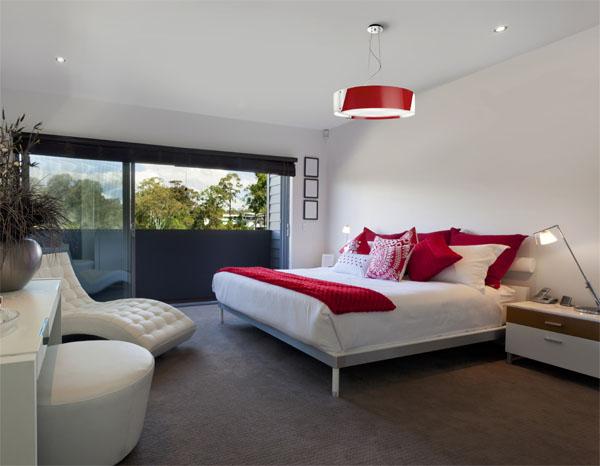 Iluminar el dormitorio algunos ejemplos que te servir n - Lamparas dormitorios modernos ...