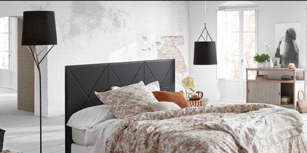 dormitorio iluminado con la lmpara tree de faro barcelona