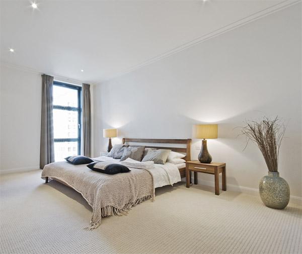Iluminar el dormitorio algunos ejemplos que te servir n for Mesillas de diseno moderno