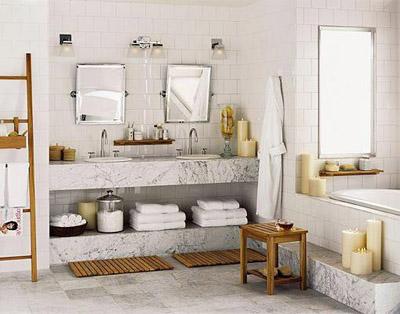 Decorar el baño. Algunas ideas sencillas y baratas para tu baño