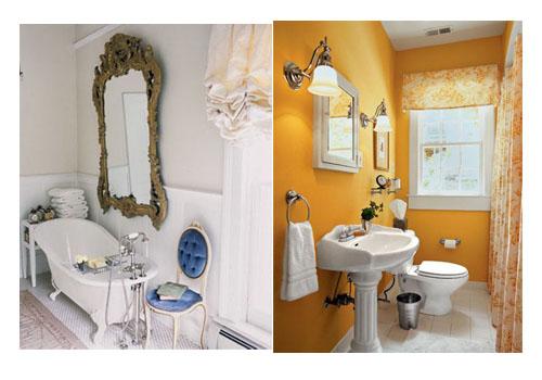 Iluminacion Baño Vintage:Decorar el baño Algunas ideas sencillas y baratas para tu baño