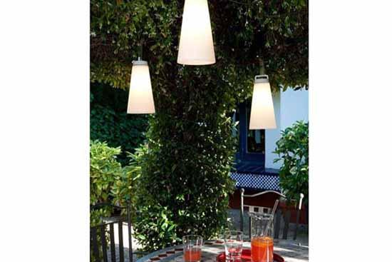 Lampara sasha especial para jard n y exterior en for Lamparas exterior jardin