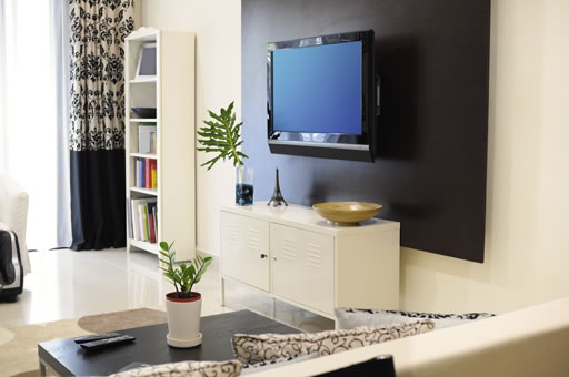 Muebles television 5 ideas para decorar el sal n for Decoracion mueble tv