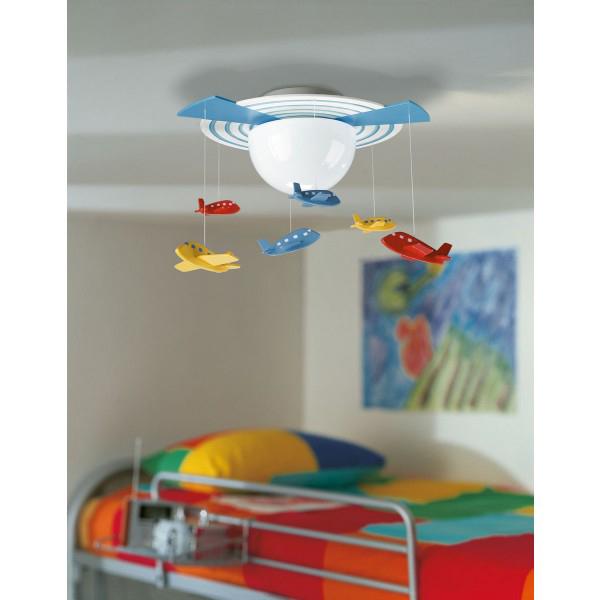 Ideas de iluminaci n para el dormitorio de los ni os - Lamparas para dormitorios infantiles ...