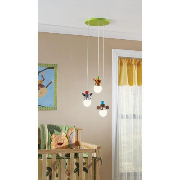 Ideas de iluminaci n para el dormitorio de los ni os - Iluminacion para bebes ...
