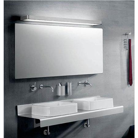 Ideas de iluminaci n para tu ba o apliques y plafones en for Lamparas de pared para bano