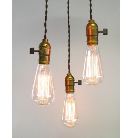 Cable textil de colores para l mparas crea tu propia l mpara - Casquillos para lamparas ...