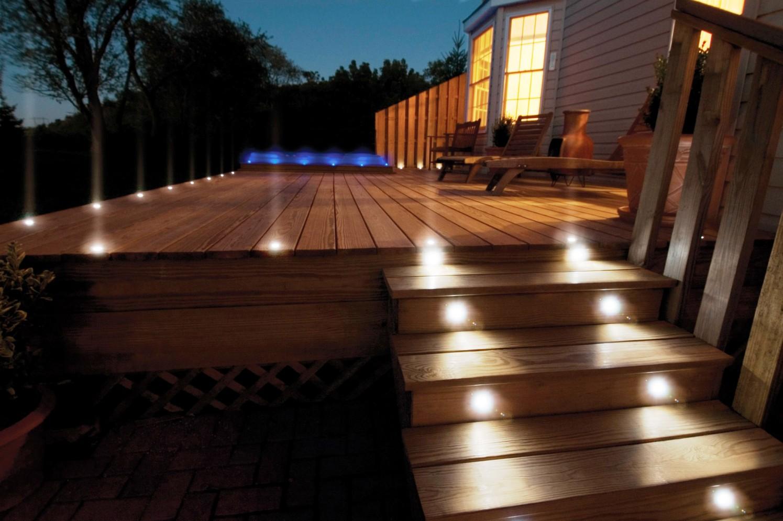 Ideas para iluminaci n exterior aprovecha tu jard n y - Iluminacion led jardin ...
