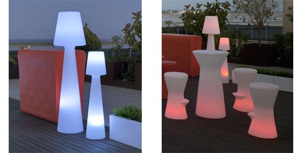 Iluminacion de bares y terrazas for Iluminacion terraza