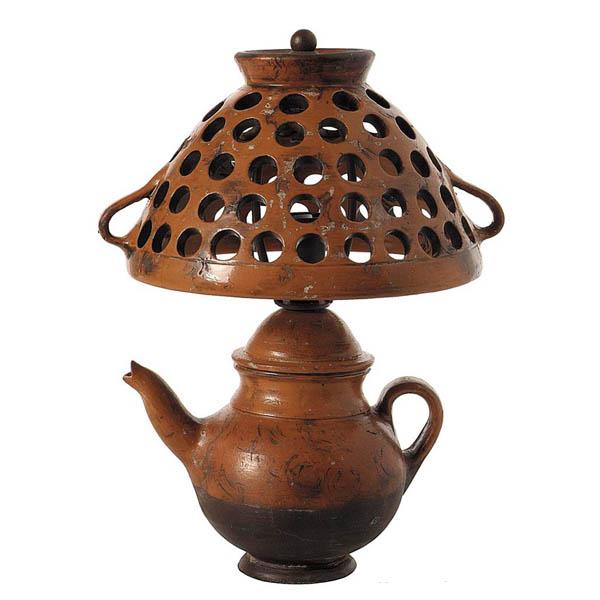 Lamparas de ceramica artesan a alfarer a aplicada a la - Lamparas de ceramica ...