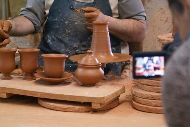 Lamparas de ceramica artesan a alfarer a aplicada a la for Lamparas de ceramica