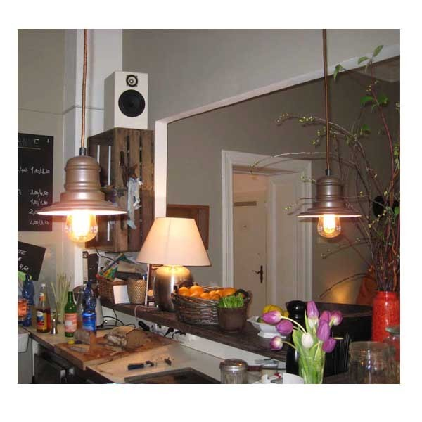 Lamparas para bodegas ideas iluminaci n habitaciones de estilo r stico - Lamparas estilo rustico ...