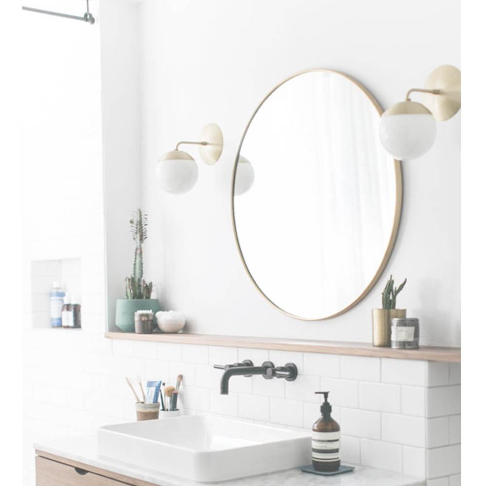 Ideas para iluminar el ba o blog iluminaci n y l mparas for Espejo para maquillarse