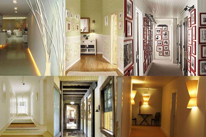 Ideas para iluminar un pasillo de forma sencilla - Lamparas para pasillos casa ...