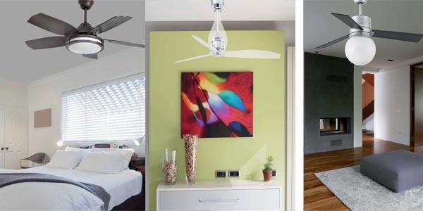 C mo elegir un ventilador de techo con luz blog - Ventiladores de techo con luz baratos ...