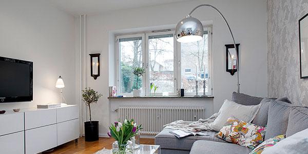 La estimulante iluminaci n estilo n rdico for Decoracion salon estilo nordico