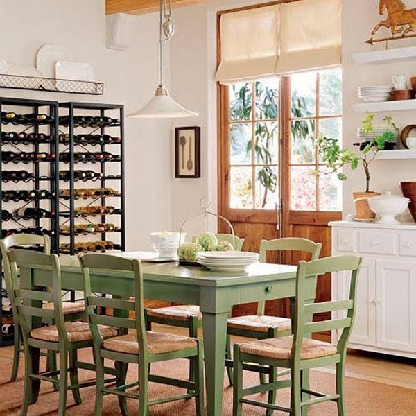 Salon comedor con estilos moderno y rustico - Fotos comedores rusticos modernos ...