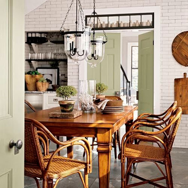 Iluminaci n de estilo r stico perfecto en bodegas y casas de monta a - Lamparas estilo rustico ...