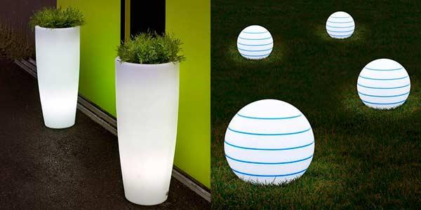 Led para exteriores ledtecnolog a iluminaci n led for Jardineras iluminadas