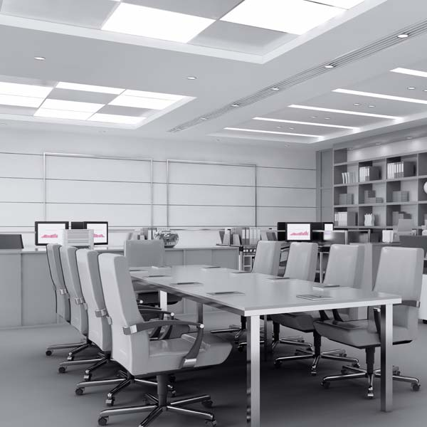 Iluminaci n de oficinas con previsi n de futuro consejos for Iluminacion led oficinas