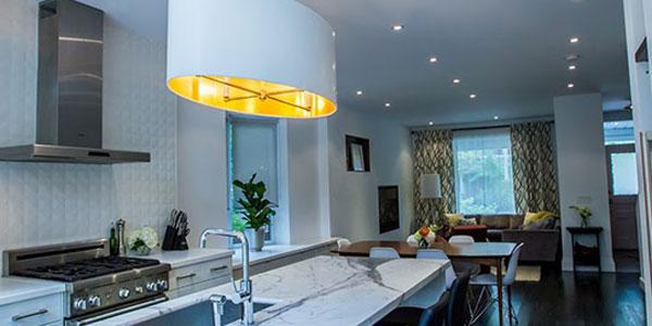 L mparas modernas para todo combinando estilos de for Mostrar cocinas modernas