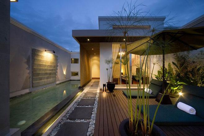 Consejos de iluminaci n exterior de chalets c mo iluminar for Luces de exterior para terrazas