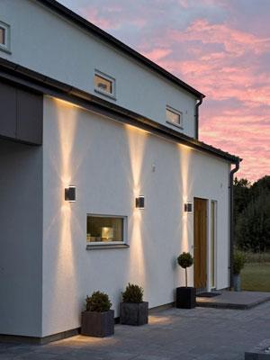 Consejos de iluminaci n exterior de chalets c mo iluminar for Lamparas porche exterior