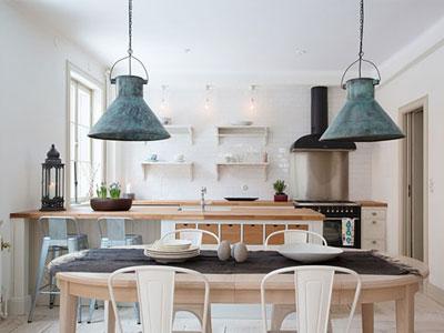 Claves de la iluminaci n estilo industrial for Lampara industrial cocina