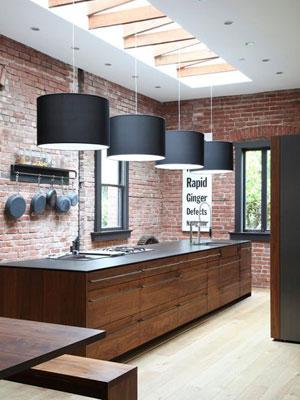 Lamparas De Cocina Modernas | Claves De La Iluminacion Estilo Industrial