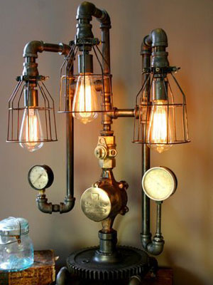 Claves de la iluminaci n estilo industrial - Lampara tipo industrial ...