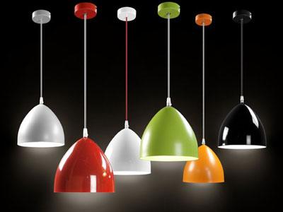 Lámparas pop art, la inspiración del color.