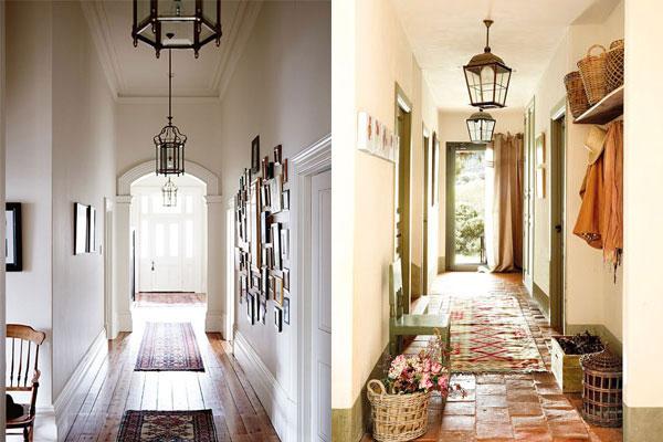 Consejos para decorar un pasillo con luz - Pasillos decorados con papel ...