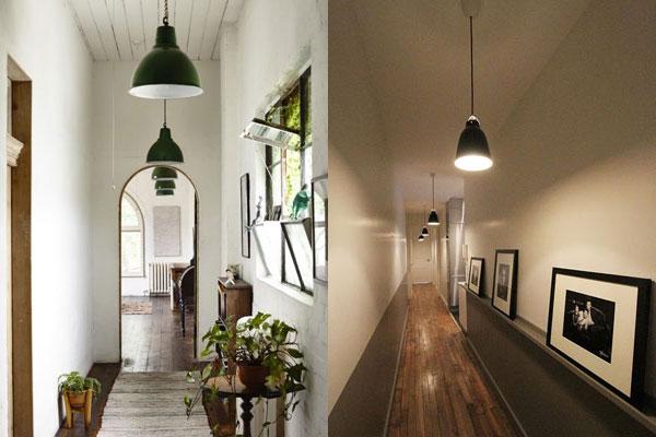 Consejos para decorar un pasillo con luz - Lamparas para pasillos casa ...