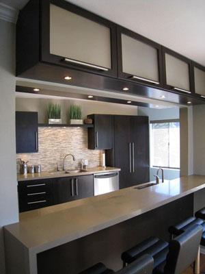 L mparas cl sicas en ambientes modernos - Iluminacion cocinas modernas ...