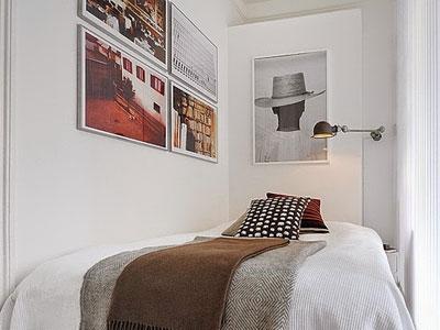 Ideas de lámparas en pisos pequeños.
