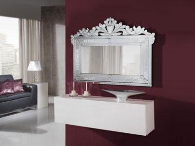 Espejos decorativos el complemento perfecto de una buena for Espejos plateados para salon