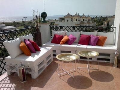 Decoraci n de terrazas chillout - Terrazas interiores decoracion ...
