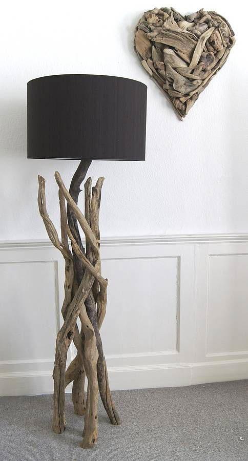 L mparas hechas con ramas de rbol - Lamparas de ambiente ...