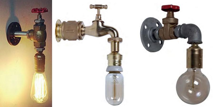 Apliques con tuber as industrial en estado puro for Apliques para ducha