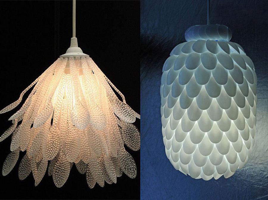 L mparas diy propuestas muy originales ii - Como decorar tulipas de lamparas ...