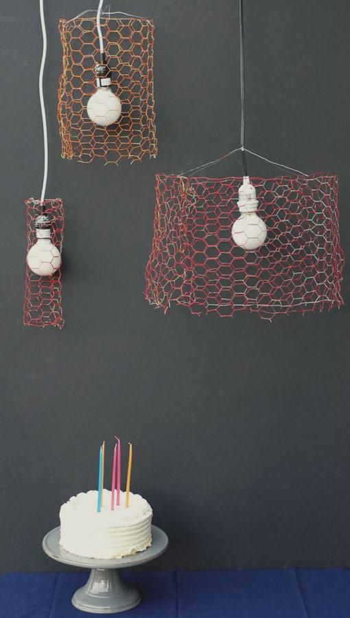 Lámparas DIY, propuestas muy originales (II)