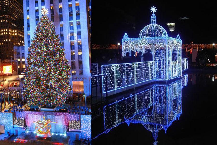 especial iluminaci n de navidad