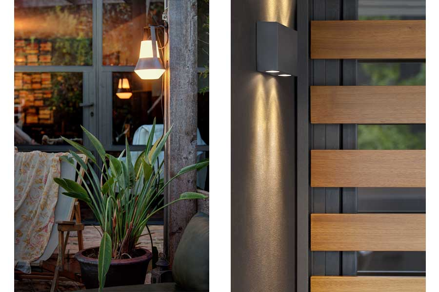 Apliques de pared algo m s que luz auxiliar for Apliques exterior modernos