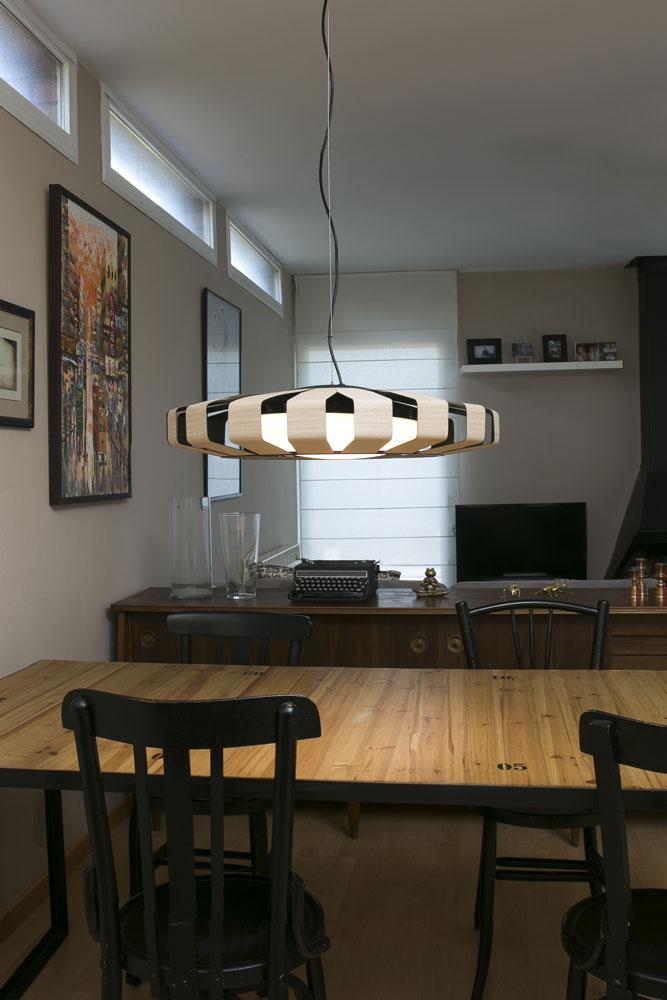 l mparas de techo para comedor luz que se siente