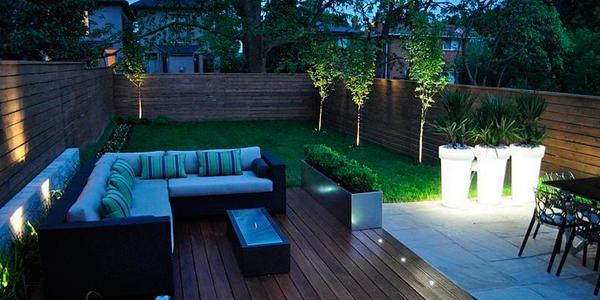 Lamparas para terraza with lamparas para terraza - Iluminacion led jardin ...