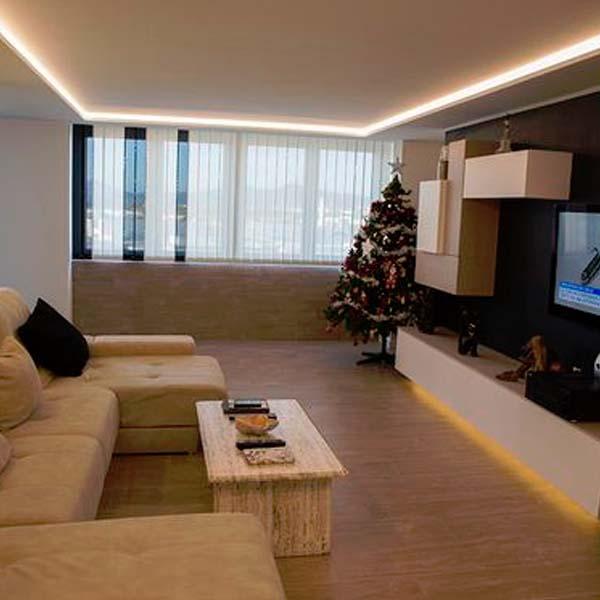 Aprende a iluminar tu casa con tiras led blog de - Iluminacion led decorativa ...
